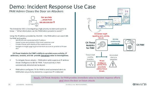 Tech Tak Threat Analytics For Privileged Access Management