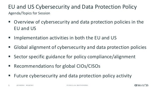 organizational data privacy and security policy Individual privacy and security of the company network are under  that if an  organization has a policy but doesn't follow it, the organization is.