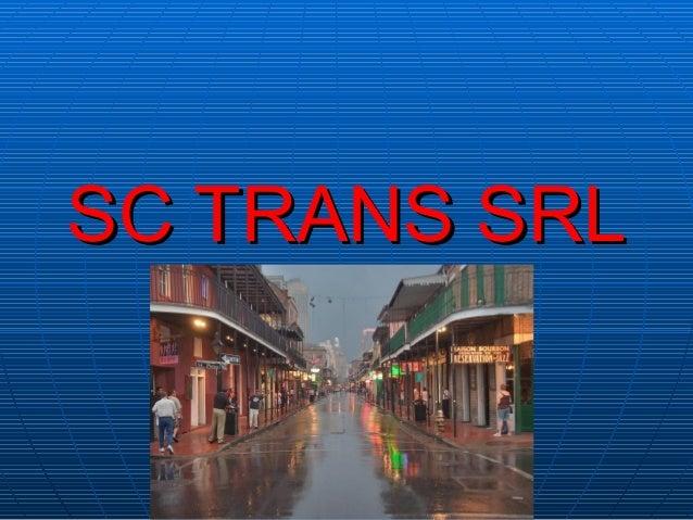 SC TRANS SRLSC TRANS SRL