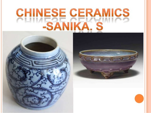 After the invention of pottery in the Neolithicperiod, (5000-2200 B.C.), the ancient Chinesesucceeded in producing painted...