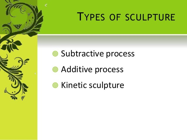 Sculpture Additive Subtractive And Kinetic