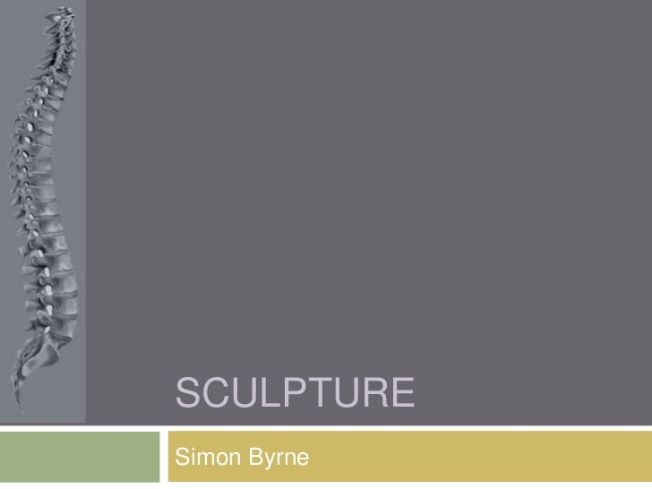 sculpture <br />Simon Byrne<br />