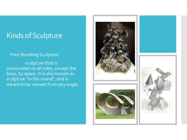 free standing sculpture definition