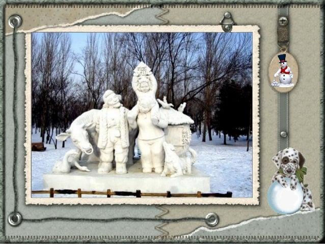 Sculptures de neige Slide 3