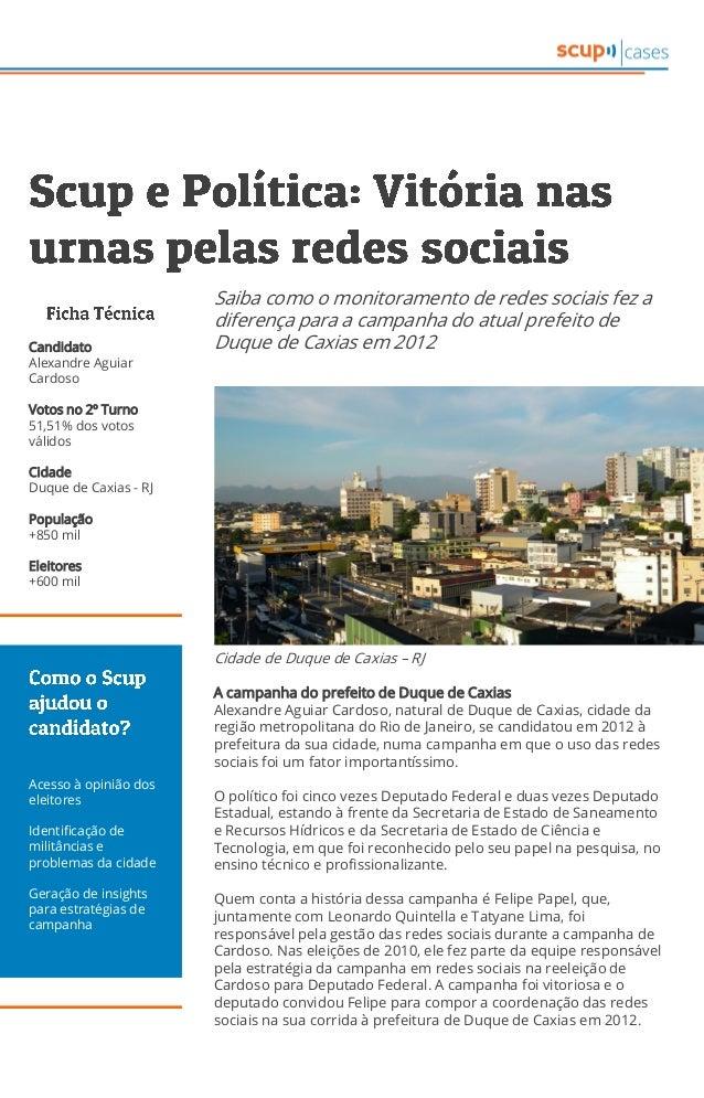 Cidade de Duque de Caxias – RJ A campanha do prefeito de Duque de Caxias Alexandre Aguiar Cardoso, natural de Duque de Cax...