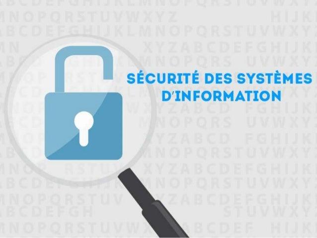 PLAN I- Introduction II- Un peu d'histoire III- Enjeux de la sécurité des SI IV- Les menaces V- Techniques de sécurité VI-...