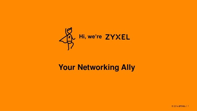 1 Hi, we're Your Networking Ally