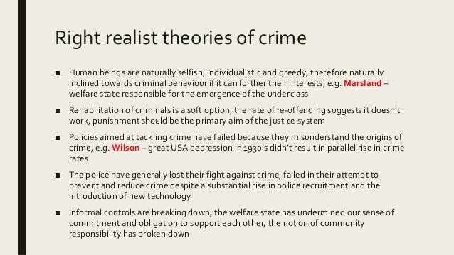 structural causes of crime