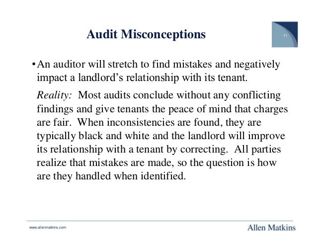 Audit Right v. No Audit Right: Common Area Expenses