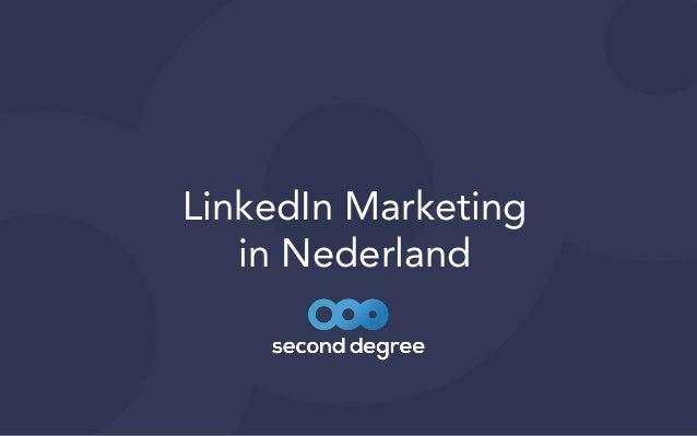 LinkedIn Marketing   in Nederland