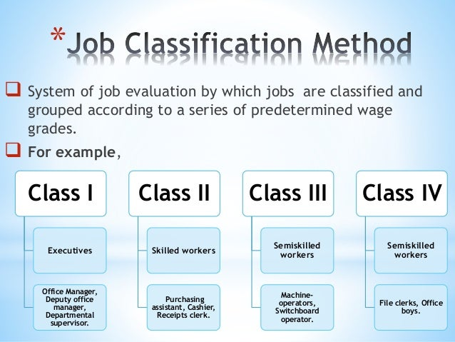 a comparison of job analysis and job evaluation By the factor comparison method of job evaluation job descriptions---refer   immediate supervisor from information obtained in the job analysis questionnaire.