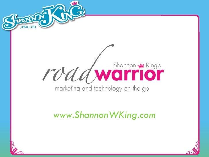 www.ShannonWKing.com