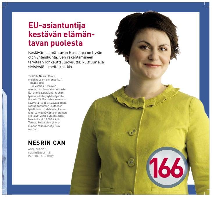sdp eurovaaliehdokkaat