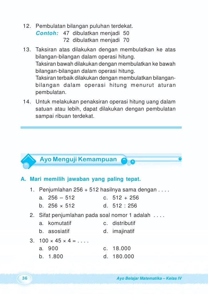 Sd4mat Ayo Belajarmatematika Burhan