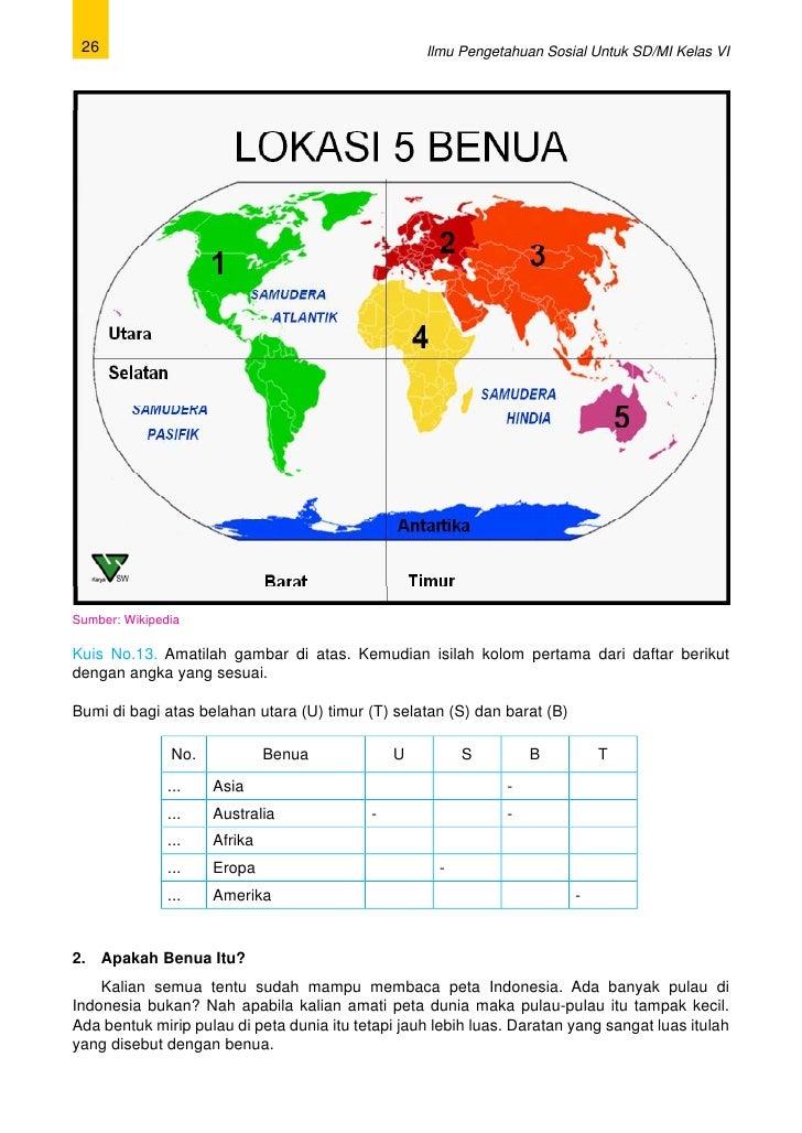 Materi Ips Kelas 6 Sd Benua Benua Di Dunia Codname Outbreak Pc Game