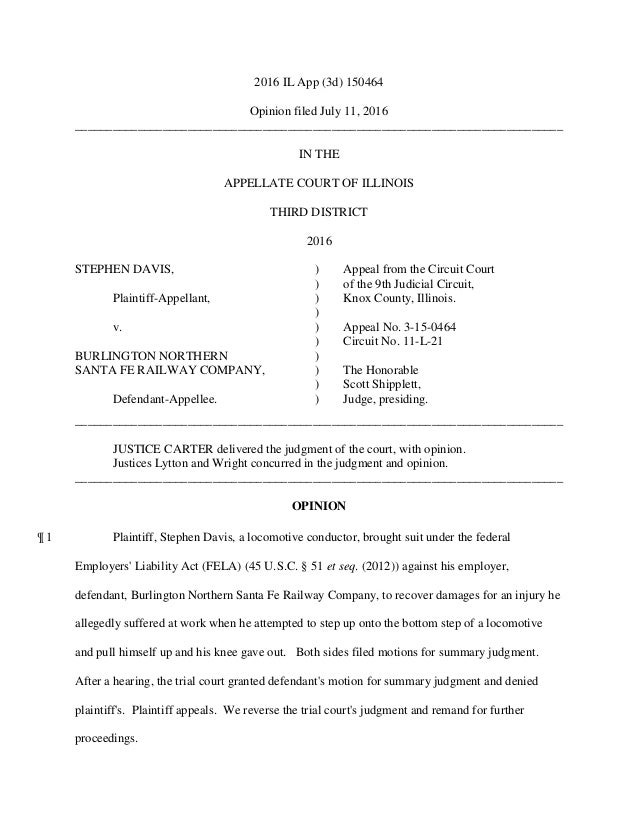 2016 IL App (3d) 150464 Opinion filed July 11, 2016 ______________________________________________________________________...