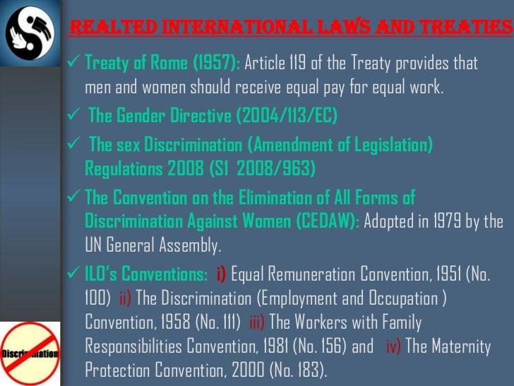 Sex discrimination act amendment regulations 2008