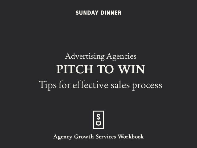 Advertising Agencies PITCH TO WIN