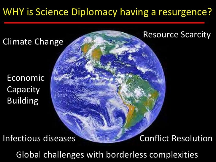 Science Diplomacy: Why, Where and How Slide 2