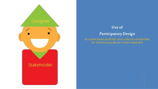 Useof Participatory Design to understand aesthetic and cultural sensibilities for reminiscing about a dear departed