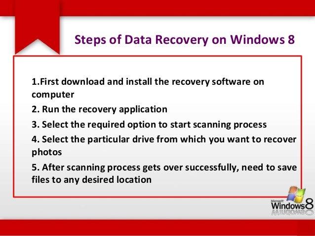 Some of the data loss scenarios in Windows 8 are