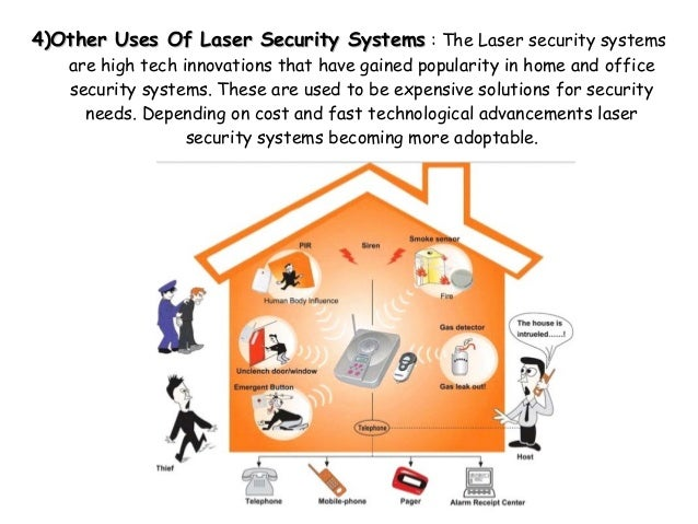 Project on home security system using ldr