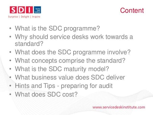 Service Desk Certification - An Introduction Slide 3