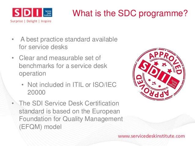 Service Desk Certification - An Introduction