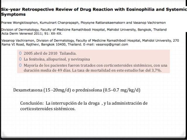 se necesitan más estudios para recomendar pautas de tratamiento específicas. Alta tasa de HHV-6 y otros herpes virus asoci...