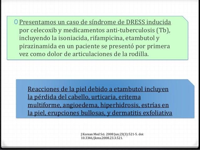 CRITERIOS, REGISTRO EUROPEO DE REACCIONES ADVERSAS CUTANEAS GRAVES. (REGISCAR) 0 Reacción sospecha que erupciones en la pi...