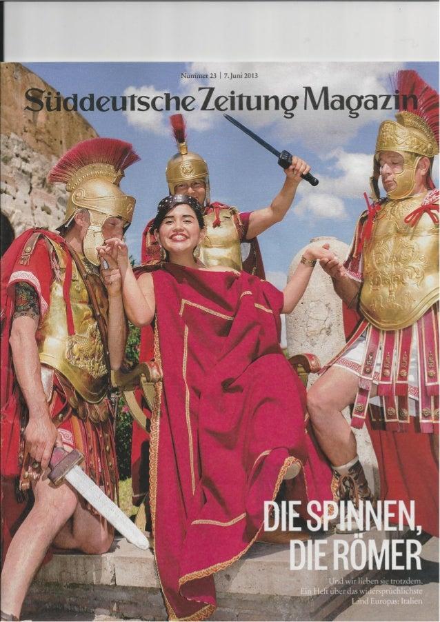 Süddeustche Zeitung Magazin - Giugno 2013