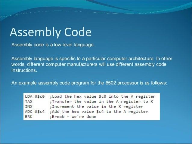 n5 computing science machine code