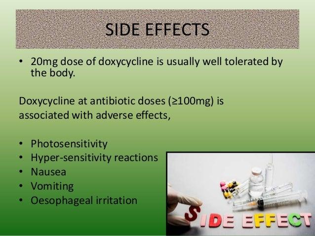 Vibramycin Uses Side Effects