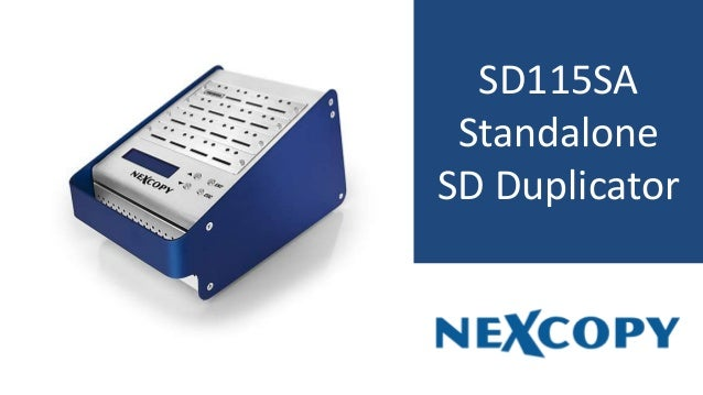 SD115SA Standalone SD Duplicator
