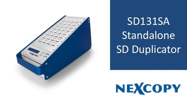 SD131SA Standalone SD Duplicator
