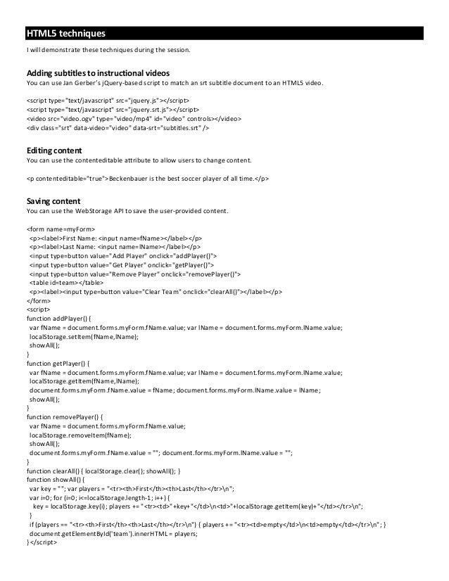 Best Practices for Embedded UA - WritersUA 2012, Scott DeLoach, ClickStart