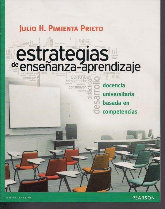 estrate ias  deenseñanza-aprendizaje  _. .-'  docencia universitaria basada en  ;  competencias  , ,  'l/ Wm.  'Í  ¡'manu ...