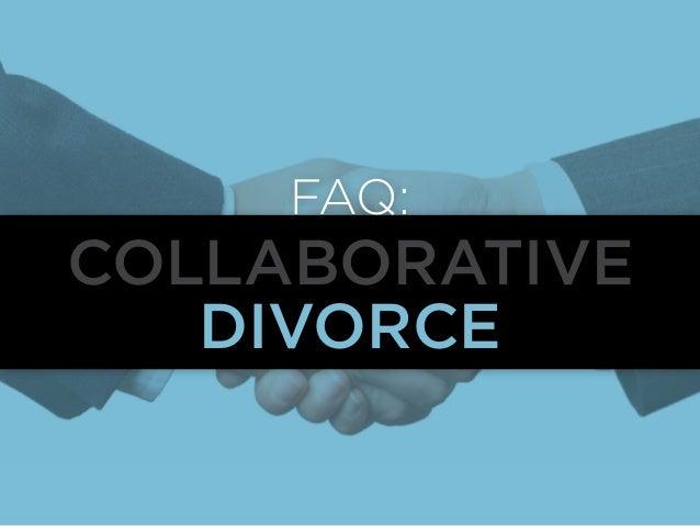 FAQ:  Collaborative Divorce