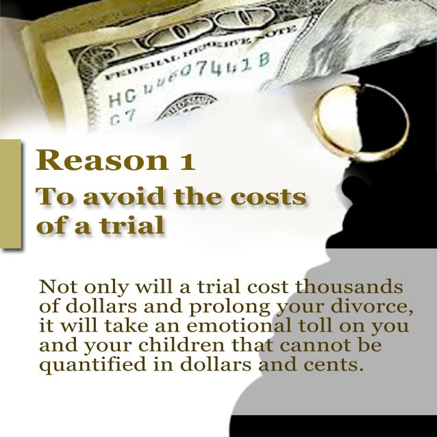 6 compelling reasons to settle your divorce out of court Slide 2