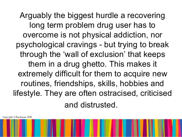 the problem of drugs in society Supply and demand: increased drug use and related problems due to the widespread use of drugs such as cocaine, angel dust, marijuana, lsd, heroin and numerous other substances, the demand for illicit drugs has increased.