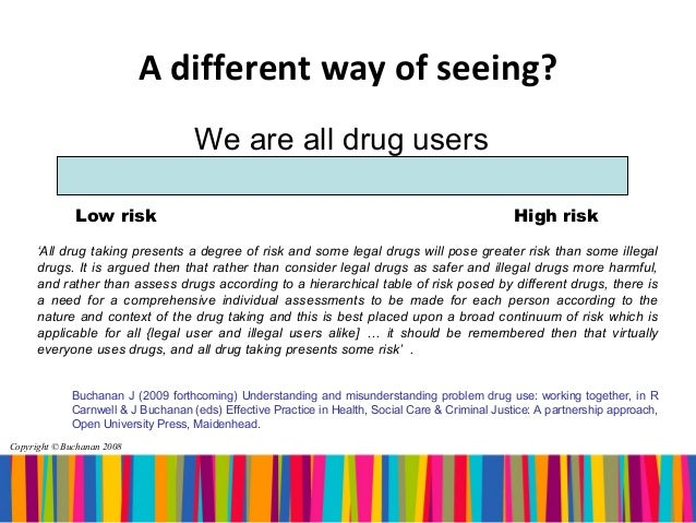 the social construction of drugs The demonization of drug use is, technically, a social construction but so are a million other things the illegality of drugs for the most part is so that we can maintain a functional work force, in my opinion.