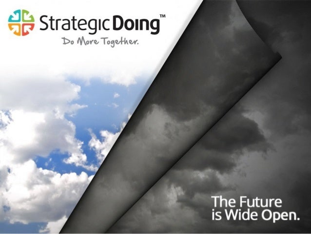 Strategic Doing   The Future is Wide Open