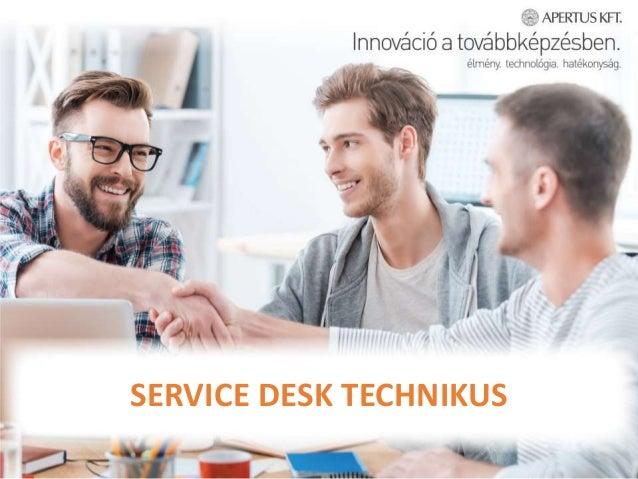 SERVICE DESK TECHNIKUS