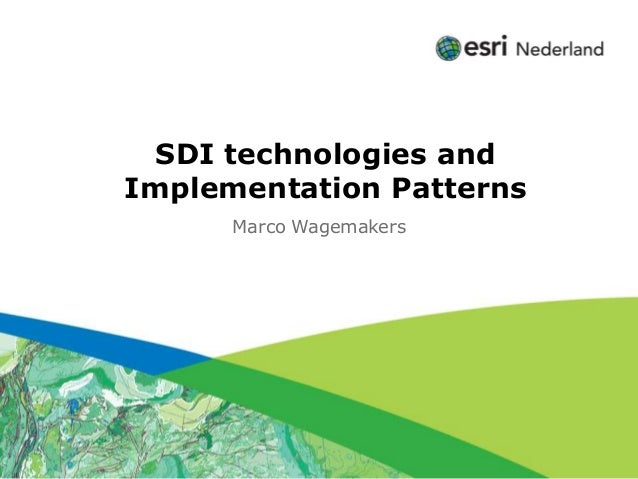 Click to edit Subtitle (optional)          SDI technologies and        Implementation Patterns                        Marc...