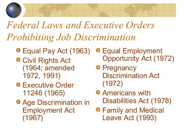 An analysis of the age discrimination act of 1967 in the united states