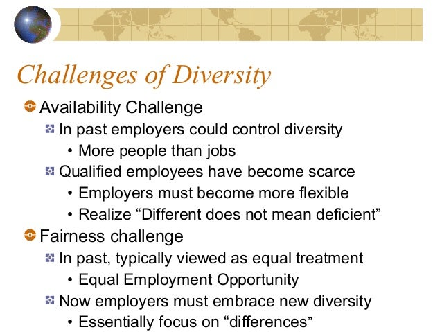 Workplace Diversity Challenges