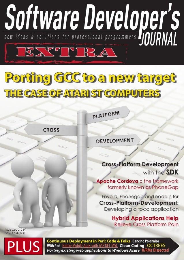 SOFTWARE DEVELOPER JOURNAL PDF DOWNLOAD