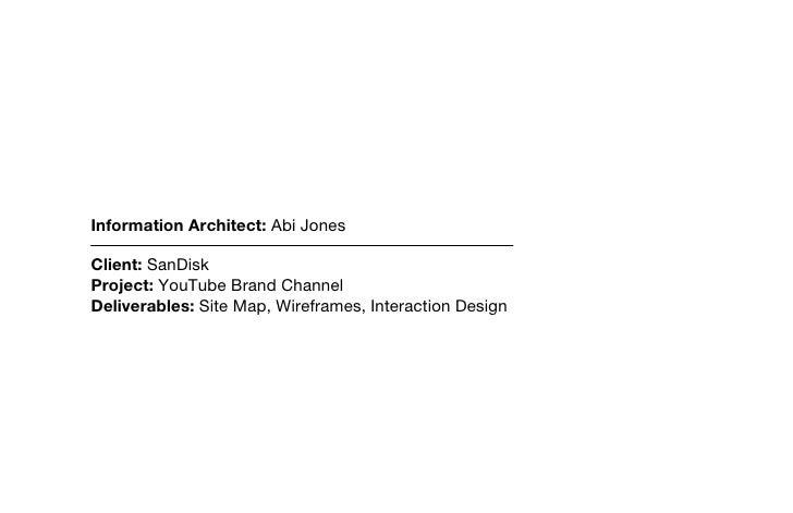 Title MODIFICATION DATE Tue Sep 15 2009          FILE NAME SDK-YouTube-IA.graffle                     Information Architect...