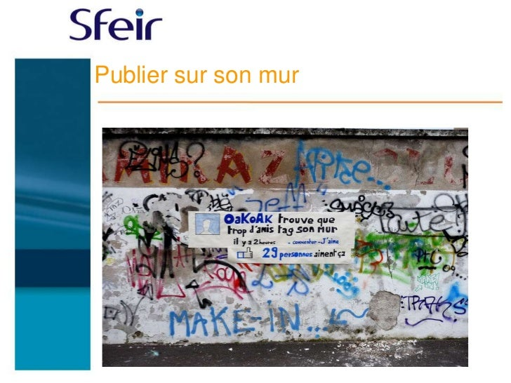 Publier sur son mur