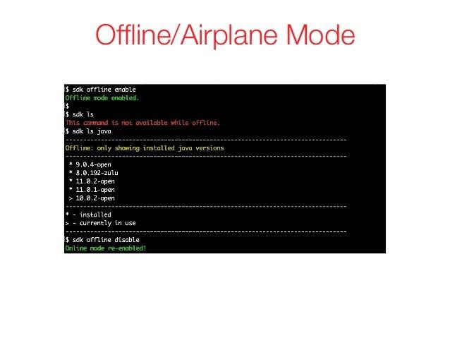 Offline/Airplane Mode